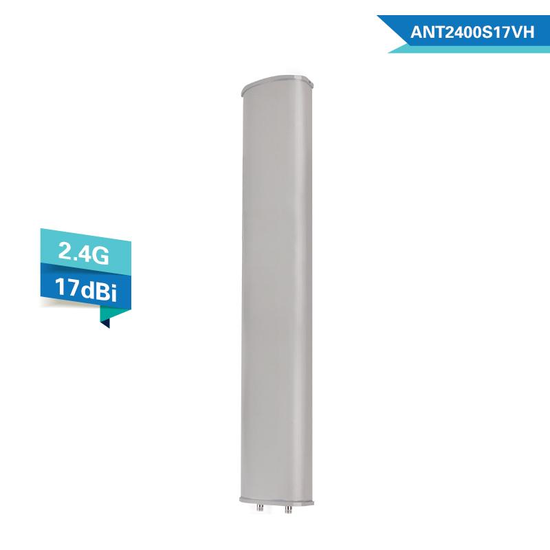 todaair 拓达2.4G 120度定向板状扇区天线 双极化 双N头 WIFI基站天线 高增益 上海快三传输专用